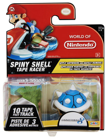 World of Nintendo Tape Racers Wave 3 - Spiny Shell With Cheep Cheep Beach