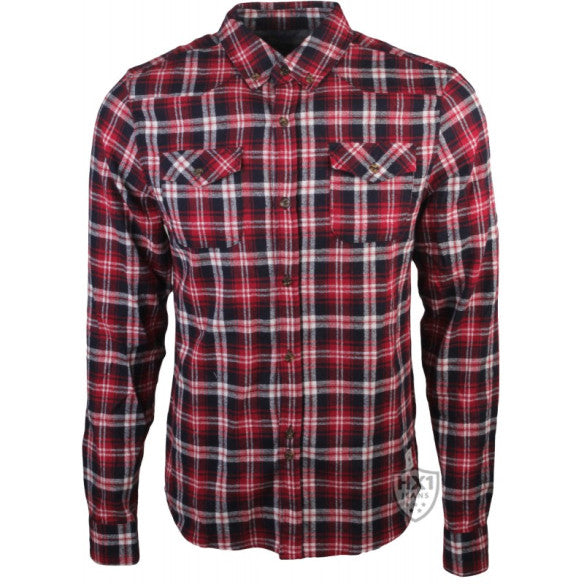 Bellfield Daintree Red Checked Shirt