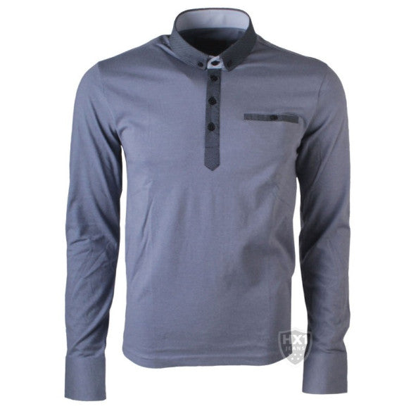 Swade Blue PSL410 Stretch Full Sleeve Shirt
