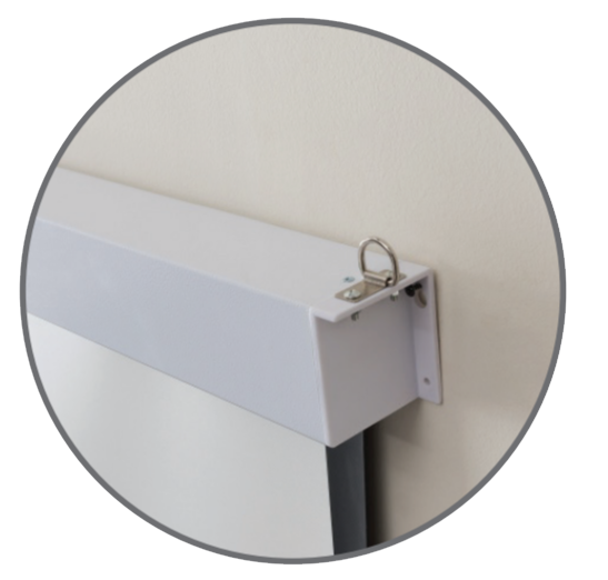 Easy Mounting on Wall or Ceiling