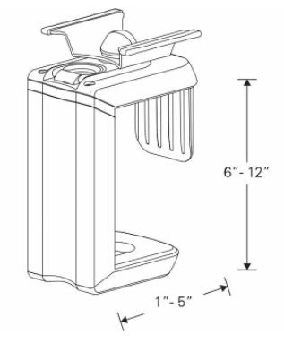 Humanscale CPU Holder 200 Specifications