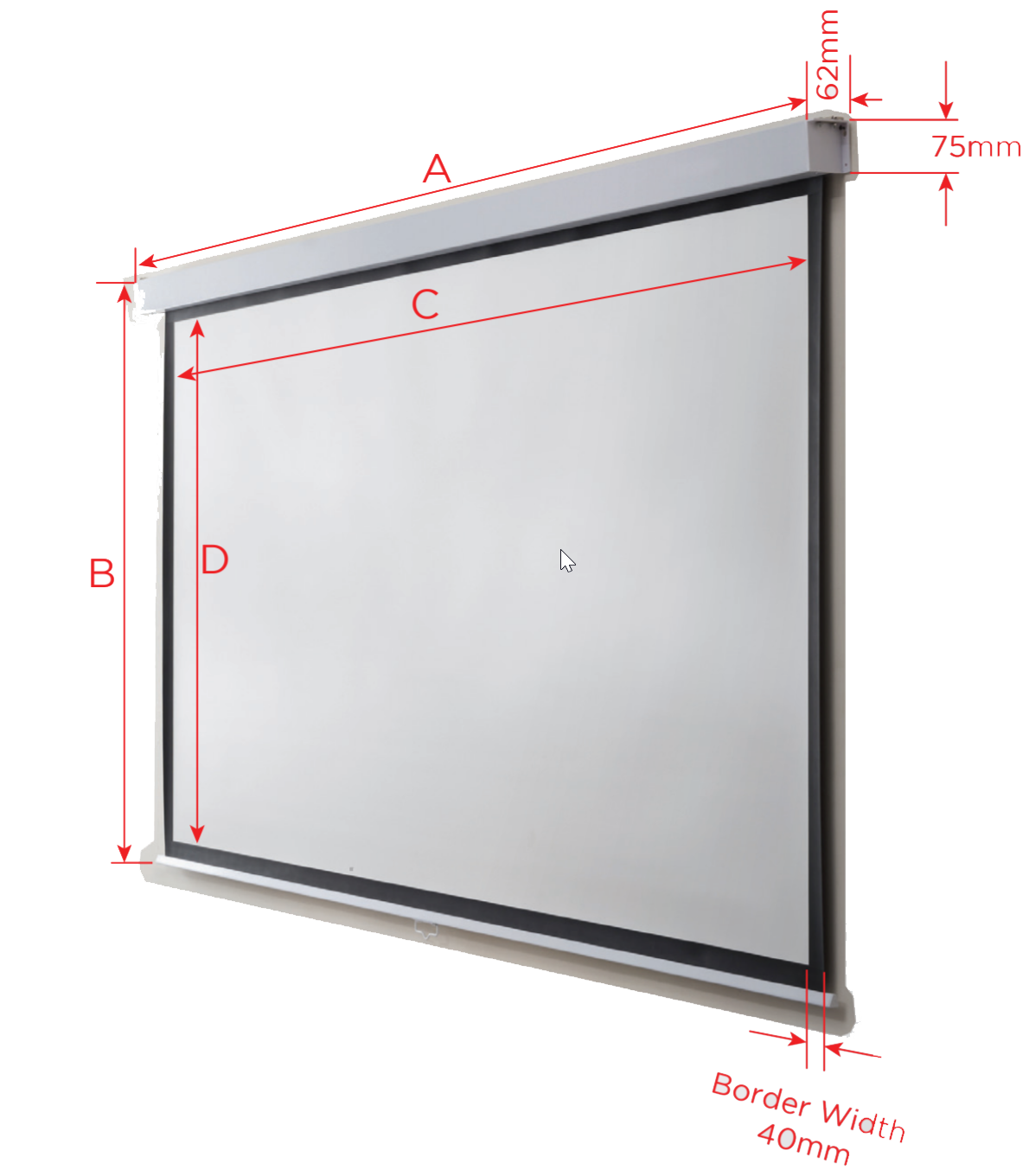 Westinghouse Projector Screen Diagram