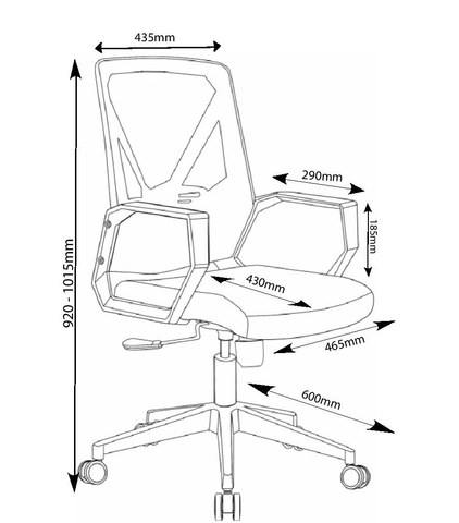 Victor Chair Dimensions