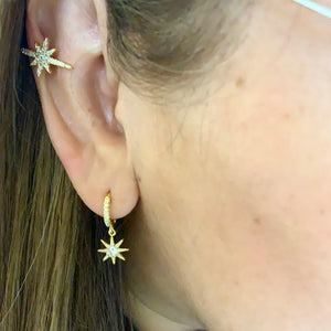 Star Cuff or Earrings