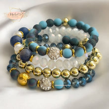 Load image into Gallery viewer, Set of four Blues Bracelets