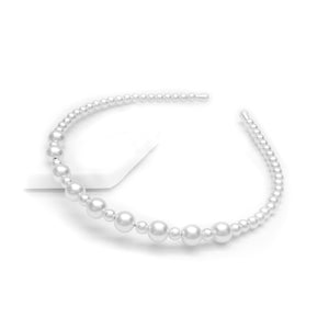 Faux Pearl Design Headband
