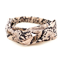 Load image into Gallery viewer, Snakeskin Cross Hair Band