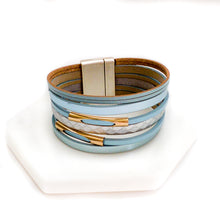 Load image into Gallery viewer, Multilayer Metallic Magnetic Bracelet-Women