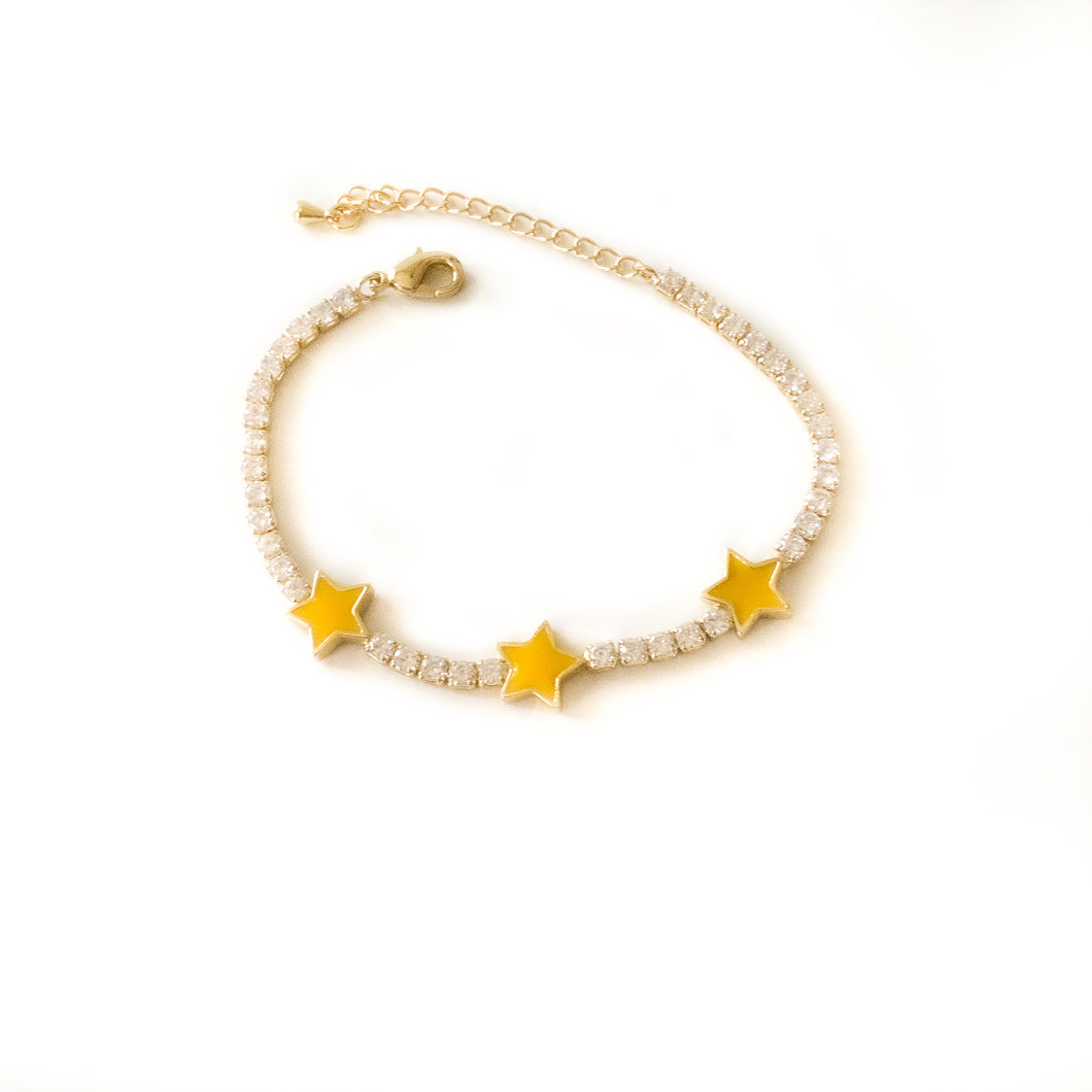 Yellow Star Bracelet