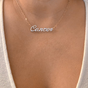 Zodiac-Cancer Necklace