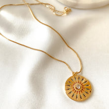 Load image into Gallery viewer, Colorful Circle Pendant Necklace