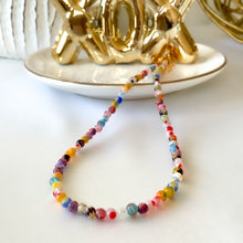 Load image into Gallery viewer, Choker Millefiori Necklace
