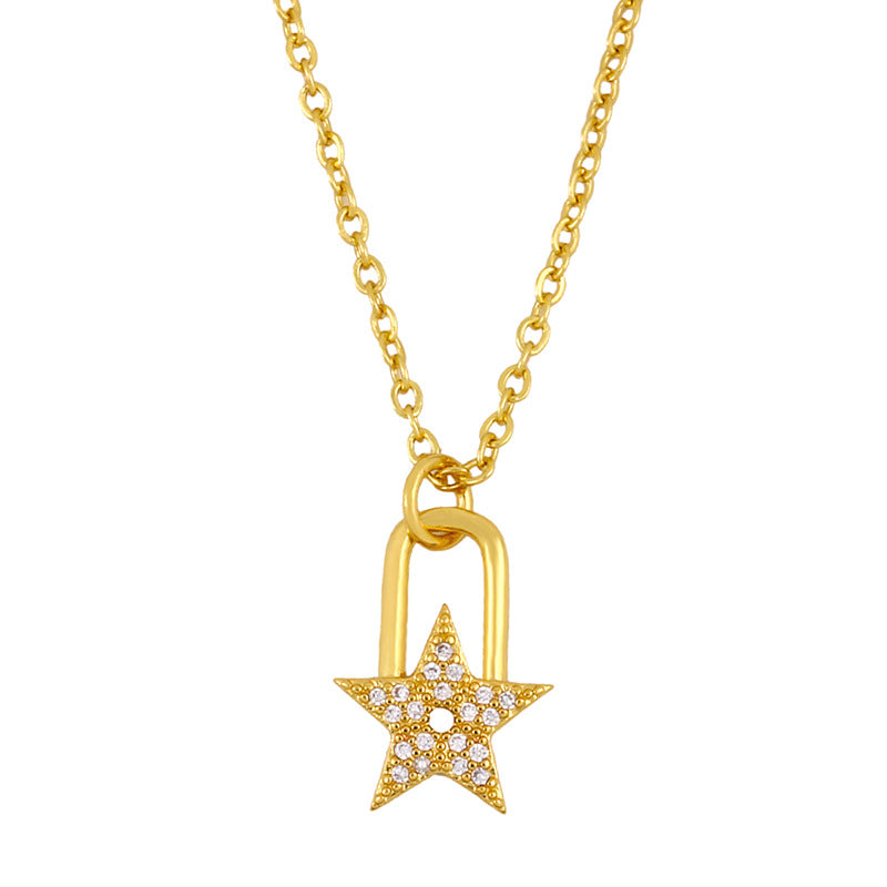 Mini Star pendant Necklace