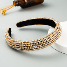 Load image into Gallery viewer, Luxury Sponge Headband with Inlaid Diamonds-Women
