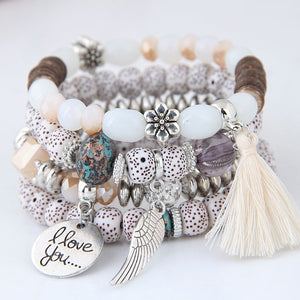 Alloy Fashion Bracelet-Women