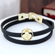 Load image into Gallery viewer, Double Leather Bracelet