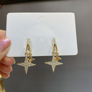 Stars Diamond Earrings