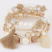 Load image into Gallery viewer, Multilayer Crystal Beads Bracelet-women