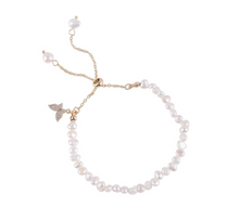 Load image into Gallery viewer, Butterfly-Pearl Bracelet