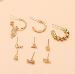 Nine Piece set Earrings