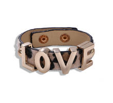 Load image into Gallery viewer, Love Animal Print Bracelet