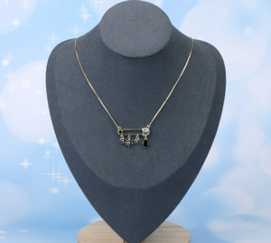 Pin Pendants Necklace