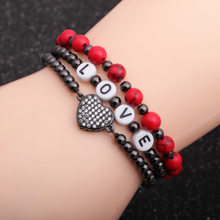 Load image into Gallery viewer, Love Beads Bracelet