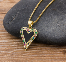 Load image into Gallery viewer, Multicolor Love Necklace