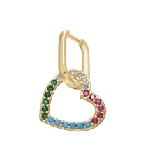 Load image into Gallery viewer, Colorful Star & Heart Earrings