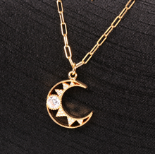 Load image into Gallery viewer, Stainless Steel Solar Necklace