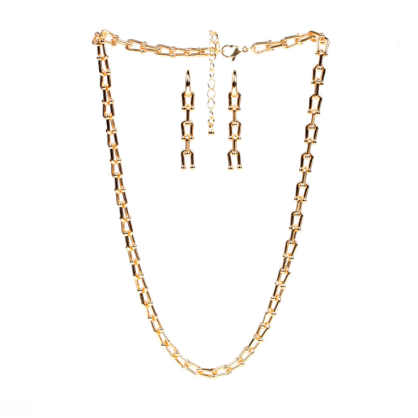 U Chain Set Necklace