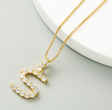 Load image into Gallery viewer, Letters Pendant Necklace