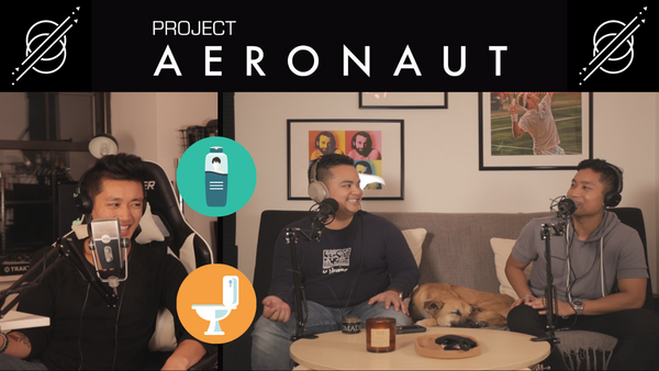 Tips For Mens Haircare: Do More While Pooping | Project Aeronaut By Aeronaut Skincare