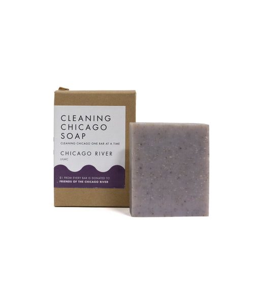 Chicago River: Lilac Soap