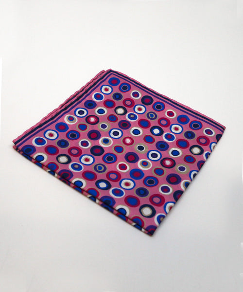 Impressionist Dot Pocket Square