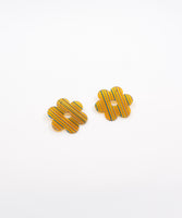Daisy Acetate Earrings - Large