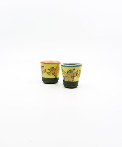 Tiddy Bird Ceramic Cups