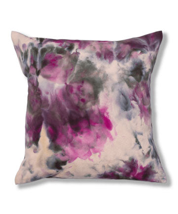 Hand Dyed Pillow Cover - Spring Solstice