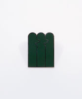 Kisss Pin - Forest Green