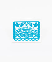 Nevertheless She Persisted Papercut - Large