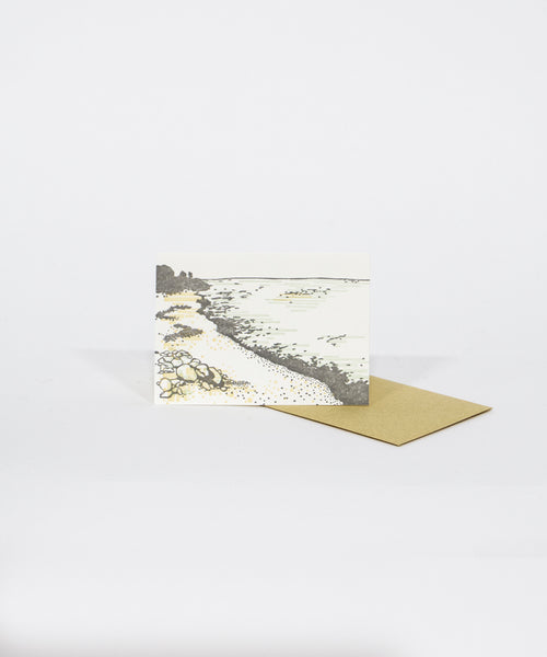 Stone Beach Greeting Card