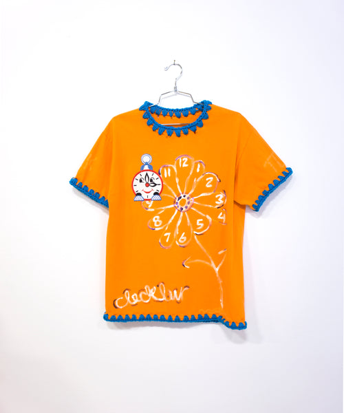 Flower Clockluvr Shirt