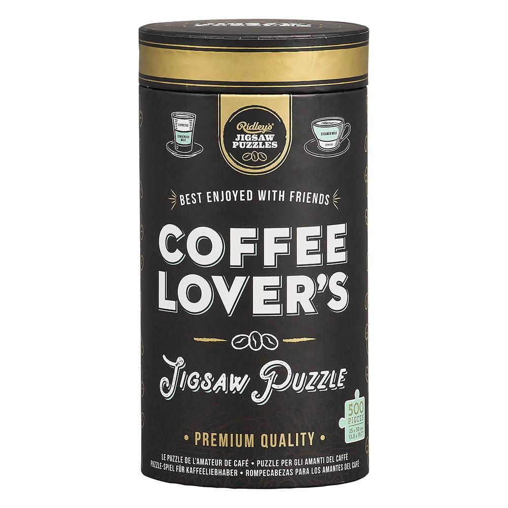 Ridley's Coffee Lover's Jigsaw Puzzle 500pcs