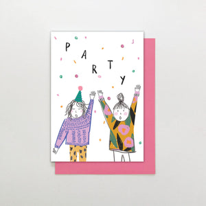 Stop the Clock Party Birthday Card