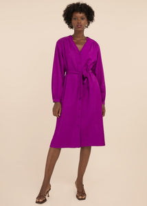 Frnch Akane Dress - Violet