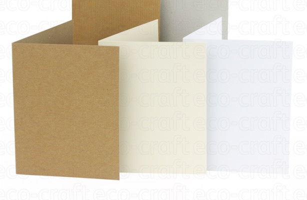 Eco-craft A6 / C6 Card Natural (Pack of 5)