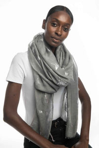 Miss Sparrow Ivory Scarf (2 colours)