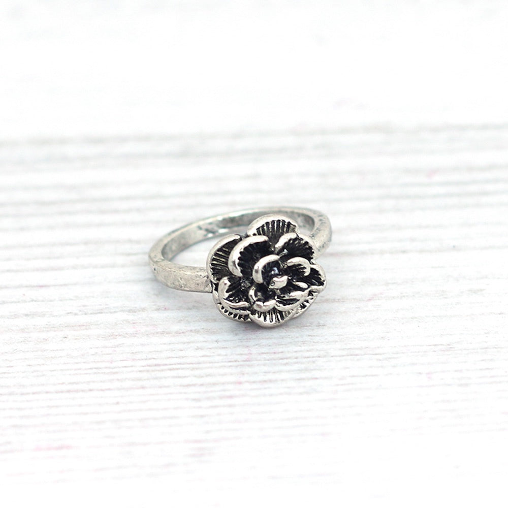 Pineapple Island Adjustable Rose Ring