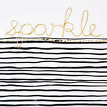 Load image into Gallery viewer, Bombay Duck 'Sparkle' Wire Word Gold