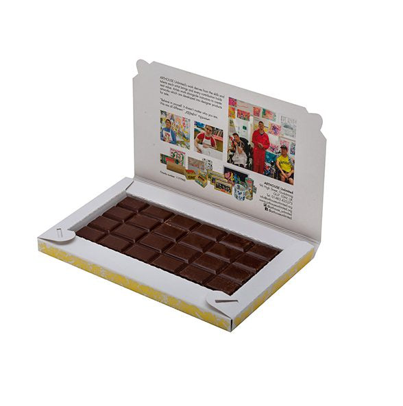 Arthouse Unlimited Postcard Chocolate Bar (3 flavours)